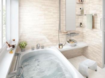 ポイント3:浴槽の入り心地がよい