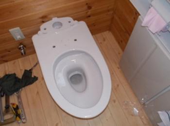 一体形トイレ取替工事(2)