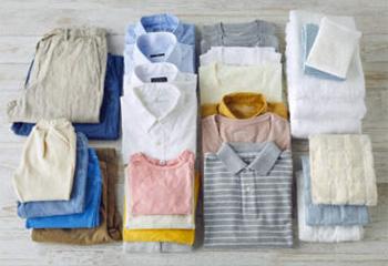 家族の衣類まとめて乾燥!